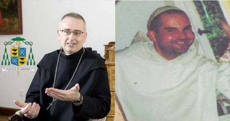 Mons Martin Stefan Werlen e Dom Moses