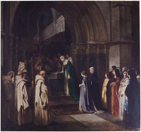 La_reina_Isabel_la_Católica_en_la_Cartuja_de_Miraflores_(Museo_del_Prado)