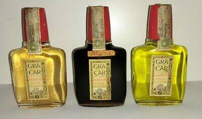 Lotto-3-Bottiglie-Bottigliette-Gra-Car-Certosa-Di