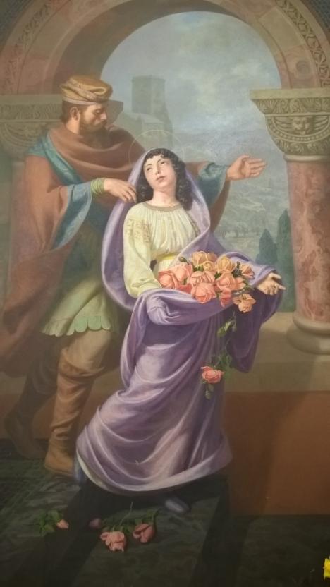 Il miracolo delle rose (Dipinto di Valère Bernard)