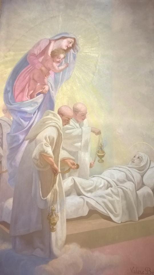Morte di santa Rosellina