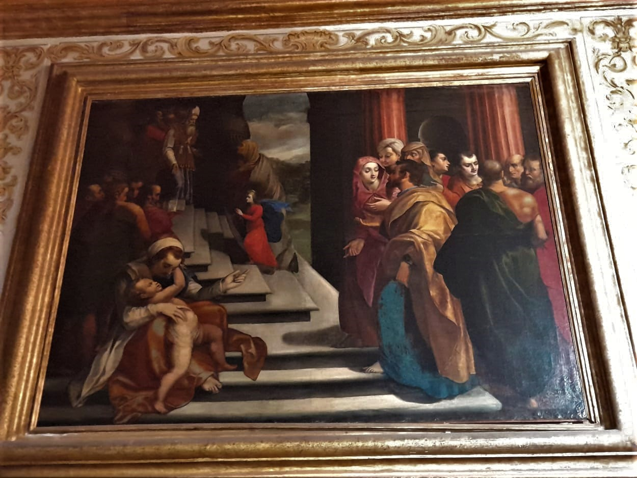 Flaminio Torelli 1(Presentazione di gesù al tempio) certosa di san Martino