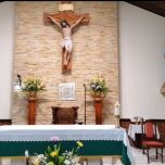 Parrocchia san Bruno Costarica altare