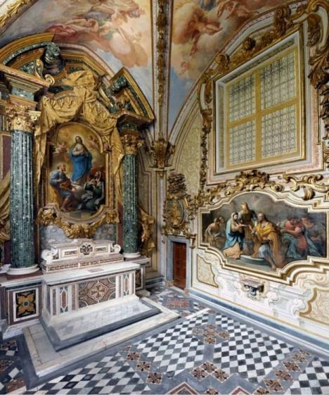 Cappella San Giuseppe (certosa San Martino)