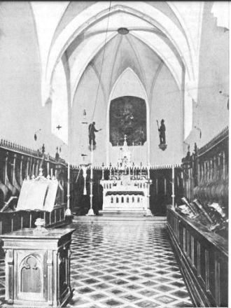 altare dove riposavano i resti